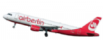 Revelle 64861 1/144 Airbus A320 Air Berlin Plastic Model Kit